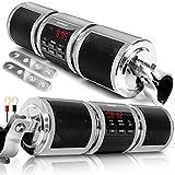 GoHawk RD8 Gen.2 Waterproof Bluetooth Motorcycle ATV Stereo Speakers Soundbar 7/8-1.25 in. Handlebar...