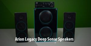 Arion Legacy Deep Sonar 550 Extreme Speakers Review