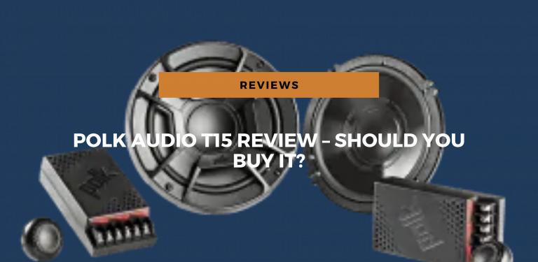 Polk Audio T15 2-Way Bookshelf Speaker Review – Should You Buy It?