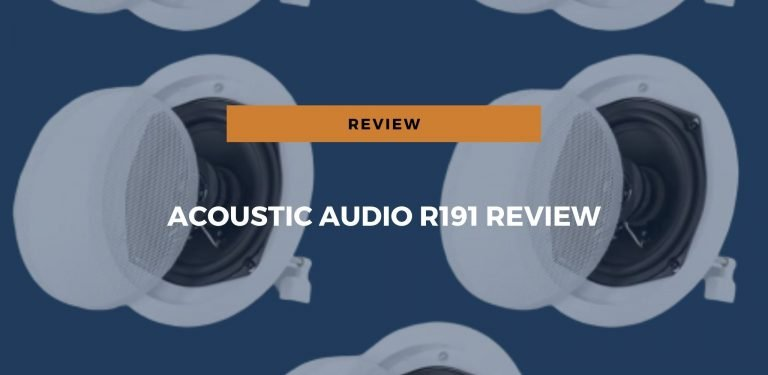 acoustic audio r191 review