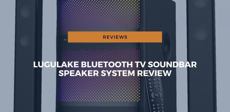 lugulake bluetooth tv soundbar speaker system review