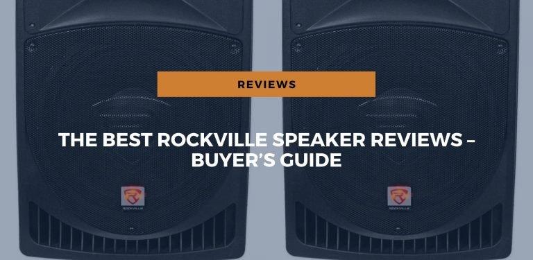 best rockville speaker reviews