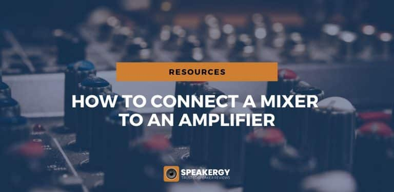 How To Connect Mixer Amplifier