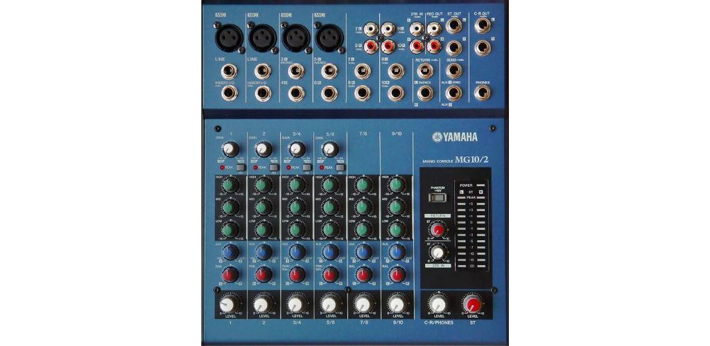 Yamaha MG102-Layout-How-to-use-audio-mixer-Speakergy