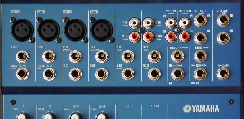 Yamaha MG102-Inputs-Outputs-How-to-use-audio-mixer-Speakergy