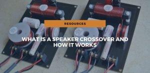 speaker crossover works